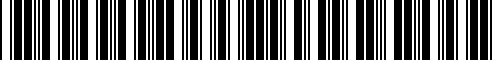 Barcode for 999F1-L4002
